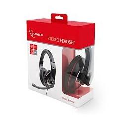 Auriculares com Microfonone Gembird MHS-001
