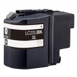 Tinteiro Brother Compatível LC22U BK XL Preto