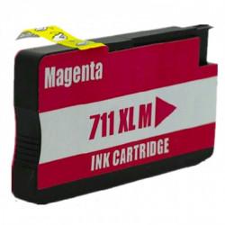 Tinteiro HP Compatível 711 Magenta