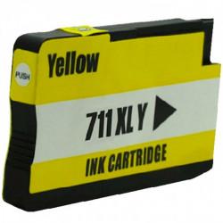 Tinteiro HP Compatível 711 Amarelo