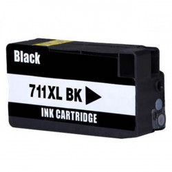 Tinteiro HP Compatível 711 XL Preto