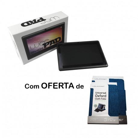 TABLET 7″ 2HIX WEEPAD 4Core 1GB / 8GB Oferta Capa 7″ Azul