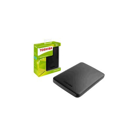 "Disco Externo Toshiba 2.5"" 1TB CANVIO SLIM Silver ( TAXA CÓPIA PRIVADA JÁ INCLUÍDA )"