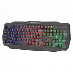 Teclado Gaming XTRIKE KB-302 Com Iluminação RGB