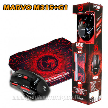 RATO GAMING 6400 DPI + TAPETE SCORPION M355G1